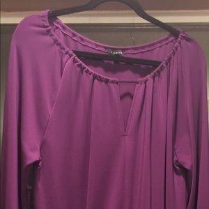 Talbots Slinky Purple Dress